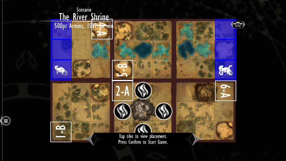 River Shrine map