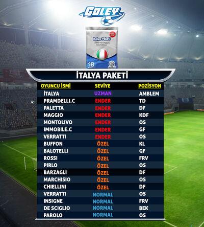 Goley-MMO-Italya-Paketi