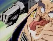 Bank guy tounge