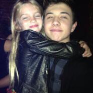 Mia with Bradley