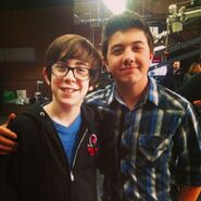 Bradley Steven Perry and Augie Isaac