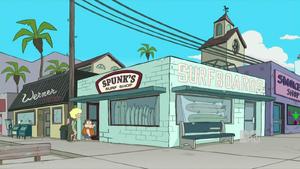 Spunks surf shop