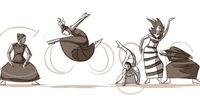 Martha Graham's 117th Birthday