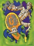 Mummy-tradingcard-glowinthedark