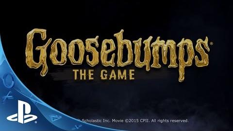 Goosebumps The Game - Debut Trailer PS4, PS3