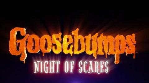 EXCLUSIVE GOOSEBUMPS NIGHT OF SCARES Official Game Trailer (2015) RL Stine, Jack Black HD