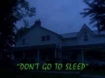 Don't Go to Sleep - title card