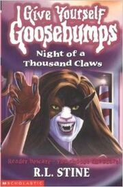 Night of a Thousand Claws - UK Cover