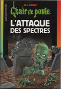 Attack of the Graveyard Ghouls - French Cover (Ver 2)