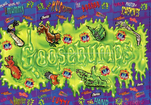 Goosebumps glow in the dark trading cards complete set