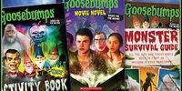 Goosebumps film books