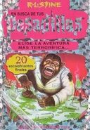 The Deadly Experiments of Dr. Eeek - Spanish Cover - Los experimentos mortales del Dr. Eeek