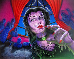 Welcome to the Wicked Wax Museum - Full Art