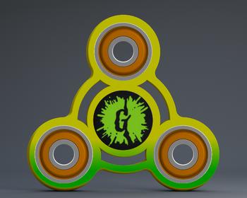 GOOSEBUMPS FIDGET SPINNER 2