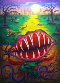 Lost in Stinkeye Swamp (Full Art)