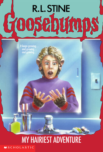 goosebumps my hairiest adventure book report Goosebumps: my hairiest adventure: r l stine: 9780439863940: books - amazonca rl stine 's books have sold more than 300 million copies, making him one of the most popular children 's authors in history read full review at: http://drewrowsomeblogspotca/ 2015/ 01/ one-day-at-horrorland-and-lost-tribe-of html.