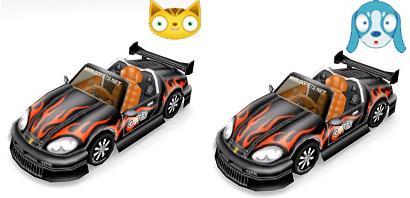 Thunder Black Sports Cars