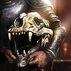Direwolf Skull Helm