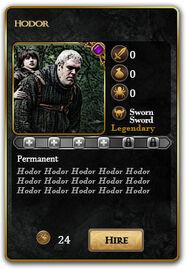 Card-Hodor