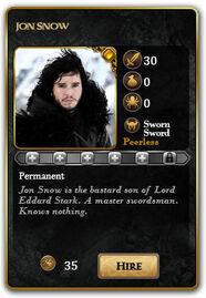 Card-JonSnow