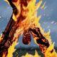 Burning Flayed Man