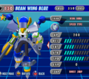Beam Wing Blue