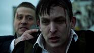 Jim Gordon telling Oswald Cobblepot to never come back to Gotham