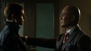 Hugo Strange talking with Bruce Wayne - A Legion of Horribles