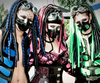 Cyber Goth Fashion Tumblr