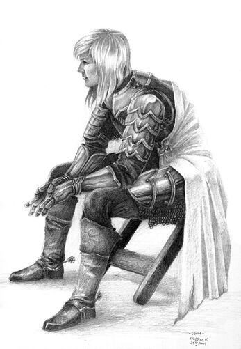 Sofia Female Knight by MIHO24