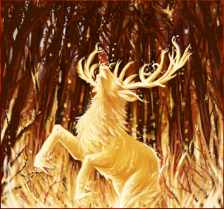 Flame stag