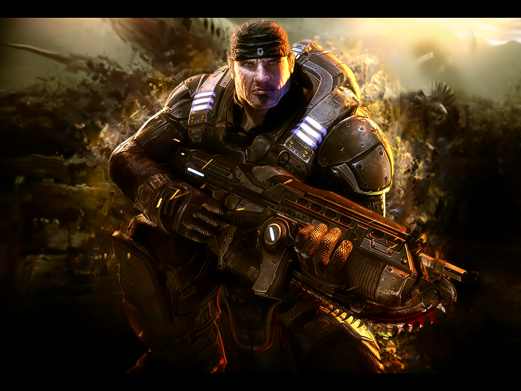 Gears of War Wallpaper by whitysb