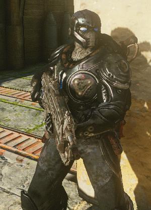 GoW3 - Onyx guard