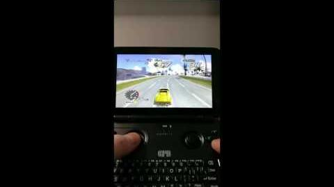 GPD WIN Outrun 2006 Coast to Coast and Codemasters DIRT 3