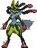 Mega Lucario (Shiny)