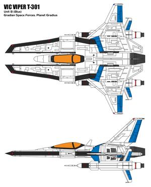 Vic Viper T 301B by BoggeyDan
