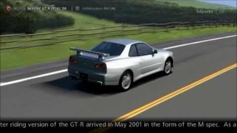 Nissan SKYLINE GT-R (R34) '00-0