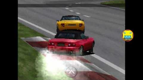 Gran Turismo GT Cup Grand Valley Speedway replay (1st place) (Mazda Eunos Roadster)