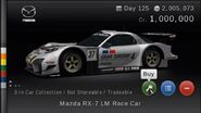Mazda RX-7 LM Race Car (GTPSP)