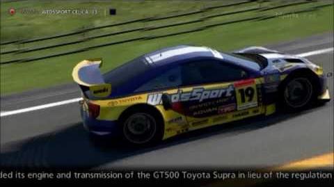 Toyota WEDSSPORT CELICA (JGTC) '03
