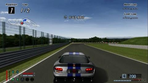 Gran Turismo 4 - Dodge Viper GTS '99 HD PS2 Gameplay