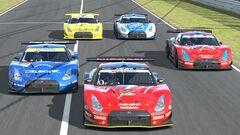 2008 Super GT500 Nissan GT-R Fleet