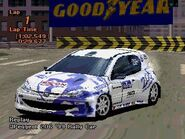 Peugeot 206 Rally Car '99 (GT2, Exxon)