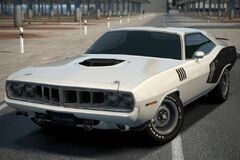 Plymouth Cuda 440 Six Pack '71
