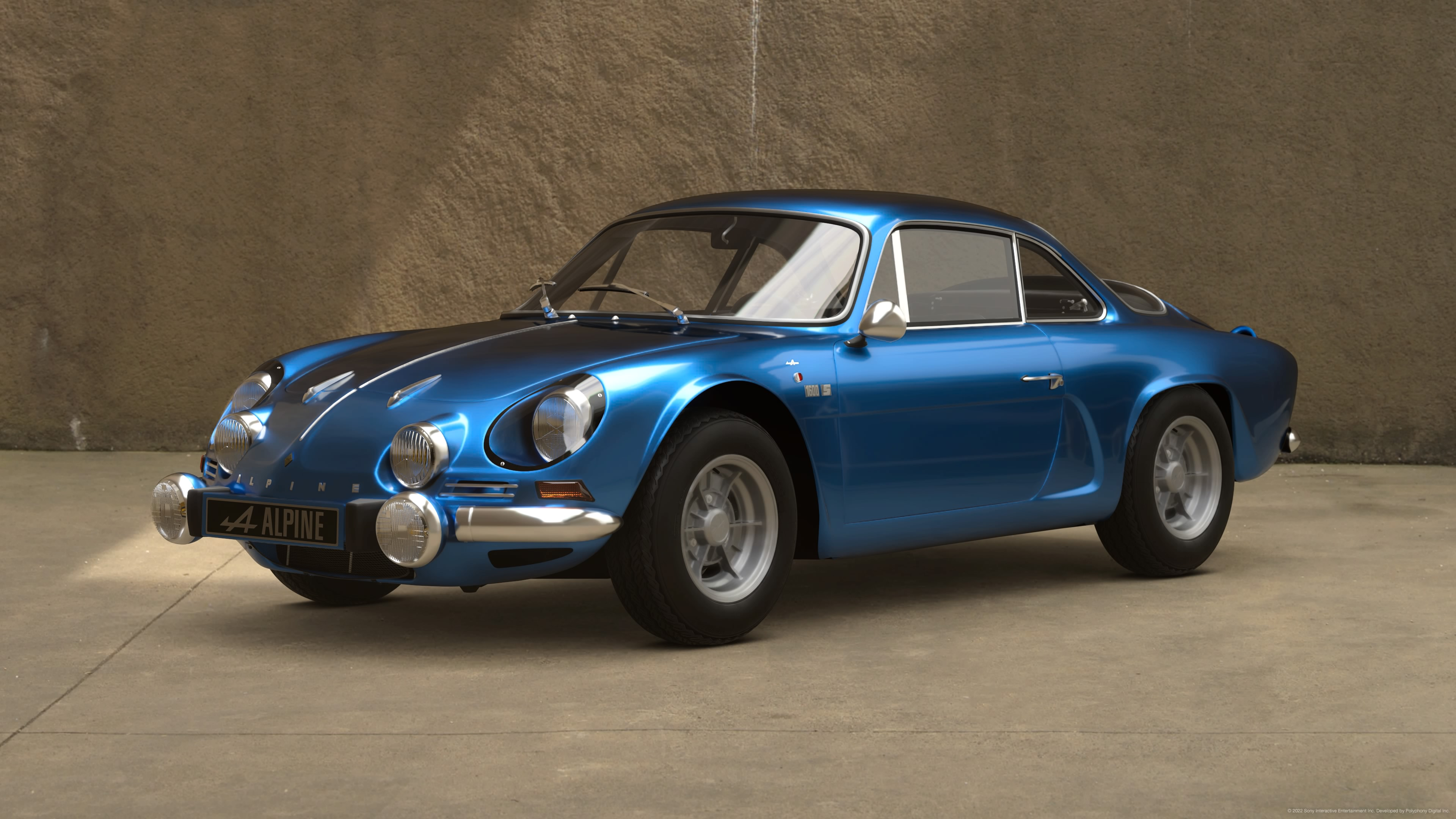 alpine a110 1600s 39 72 gran turismo wiki fandom powered by wikia. Black Bedroom Furniture Sets. Home Design Ideas