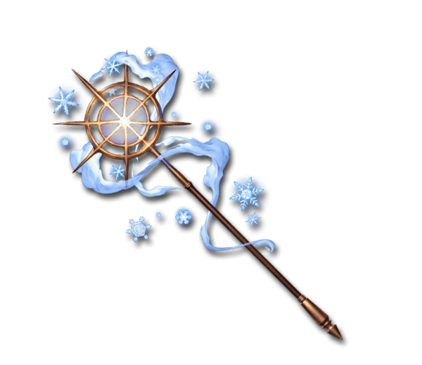 Ice Crystal Staff
