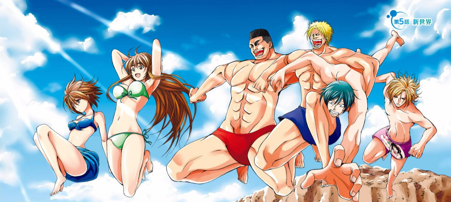Image result for grand blue anime