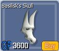 BasiliskSkull