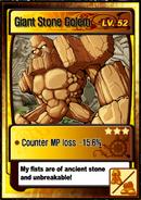 Lvl 52 - Giant Stone Golem