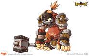4. Fire Hammer Berserker